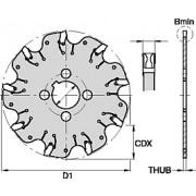 A2, Cutting Width 2.2mm