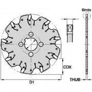 A2, Cutting Width 1.6mm